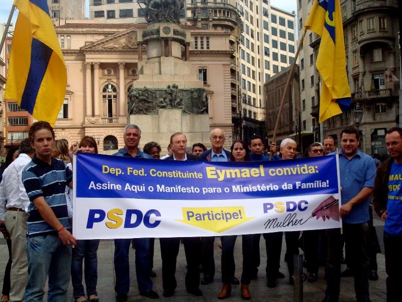 Campanha para criação do Ministério da Família vai as ruas de São Paulo