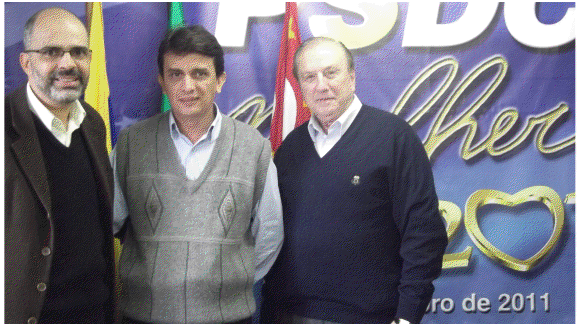 Dr. Welinton Andrade Silva, Vagner Pelonha e Jose Maria Eymael