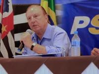 Eymael na reunião estadual do PSDC SP