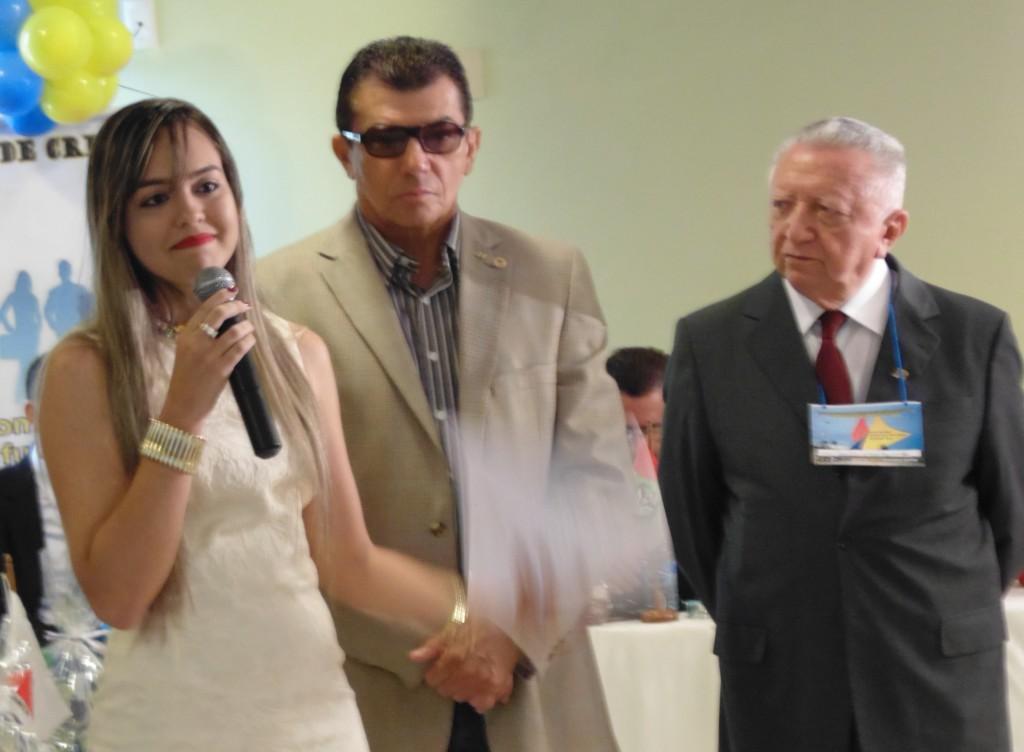 A Jovem vereadora Tâmara Lima, toma posse como Presidente Nacional do PSDC Jovem. (Foto: Assessoria de Imprensa do PSDC)