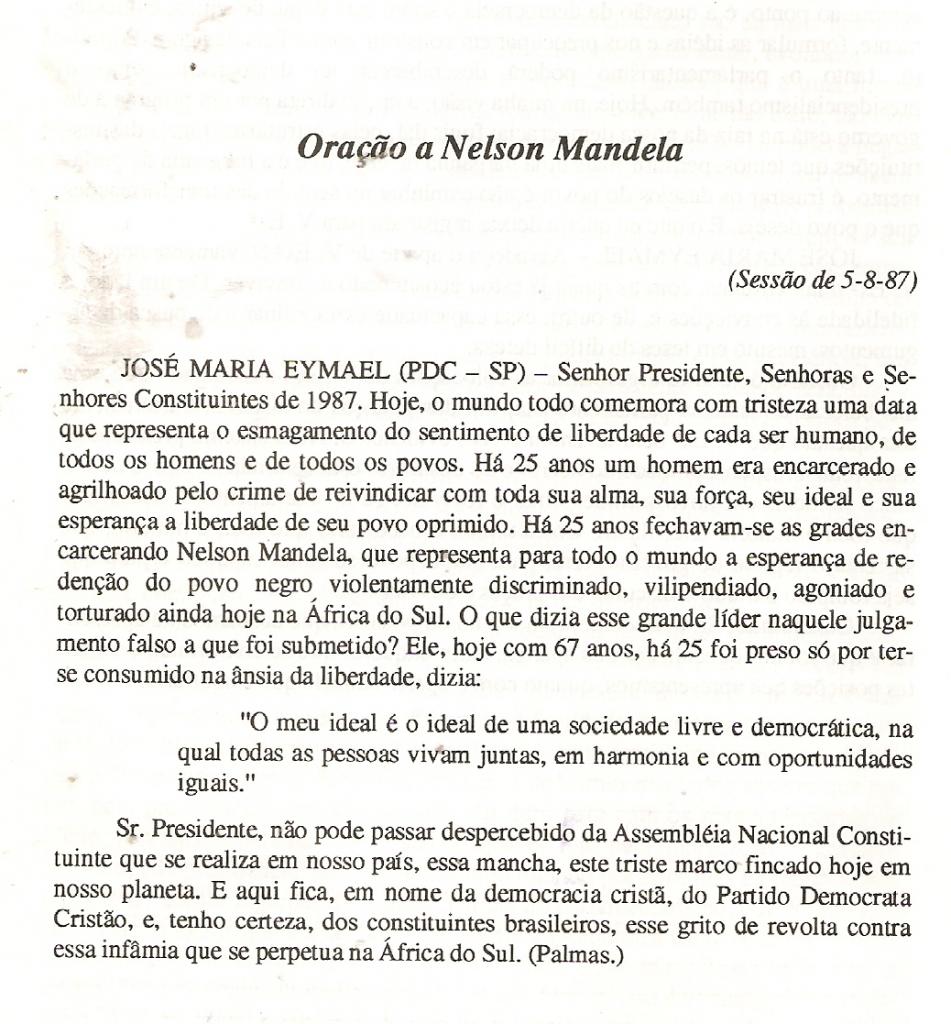DOCUMENTO ORIGINAL –DIARIO DA ASSEMBLEIA NACIONAL CONSTITUINTE