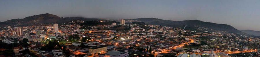 A bela São Roque no interior paulista.