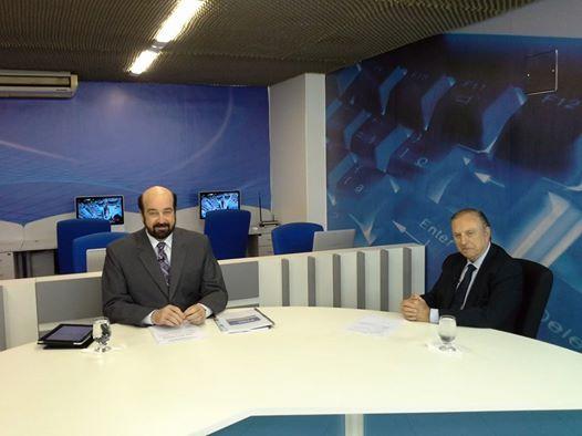 O Presidente Nacional do PSDC, Eymael em uma das varias entrevistas que concedeu a mídia Goiana.