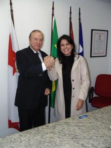 A Deputada de Rondônia Glaucione Rodrigues.