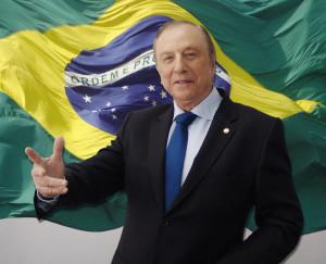Constituinte Eymael, no comando da Convenção que propõem mudanças concretas para o Brasil. (Foto: Comunicação PSDC)