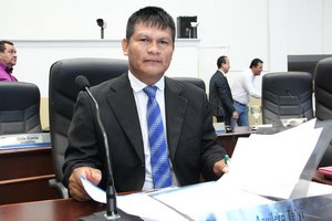 Vereador Aguilera tem encaminhado as reivindicações da reserva indígena de Dourados – Foto: Thiago Morais