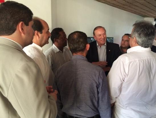 Eymael entre os Democrata Cristãos de Alagoas.