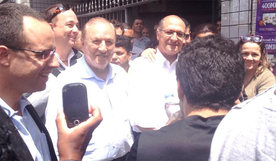 Eymael e Alckmin