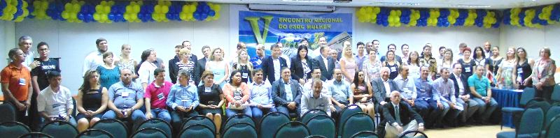 Na foto a família Democrata Cristã reunida em Maceió em Alagoas.