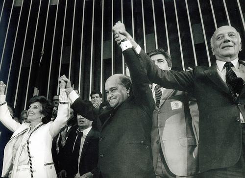 Tancredo e Ulysses, os arautos da Redemocratização do Brasil.