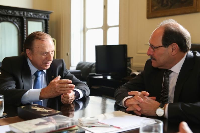 Eymael se encontra com governador do Rio Grande