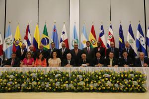 O dirigentes da Democracia Cristã das Américas se reúnem na cidade do Panamá.