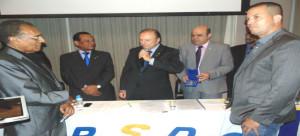 O Constituinte e Presidente Nacional do PSDC, Eymael, é homenageado com a medalha Duque de Caxias, por lideranças fluminenses.