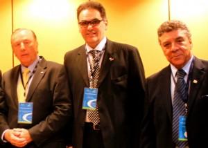 Da esquerda para direita; Eymael, Carlos dias e Rubens Pavão; a Democracia Cristã Brasileira bem representada.