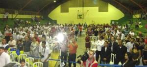Nas imagens a festa em Novo Gama que reuniu as lideranças Democrata-Cristãs do Estado de Goiás.