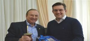 Em Bento Gonçalves reunião com o Prefeito Guilherme Pasin