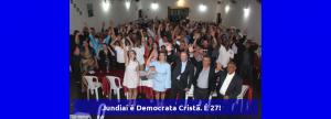 Jundiaí é Democrata Cristã. É 27!
