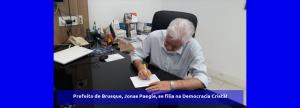 Prefeito de Brusque, Jonas Paegle, se filia na Democracia Cristã!