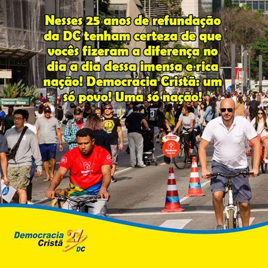 25º Aniversário da Democracia Cristã