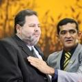 Elizeu Nascimento (dir.) eleito em Cuiabá (MT)